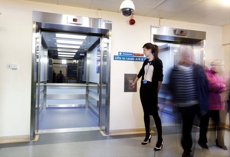 7 bed lifts refurbished over two sites four bed lifts at Scunthorpe General and three at Diana Princess of Wales-1.jpg